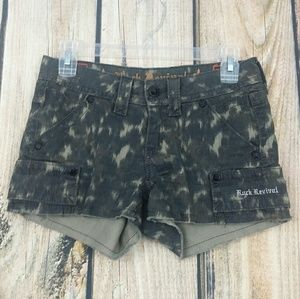 Rock Revival Camouflage shorts size 25